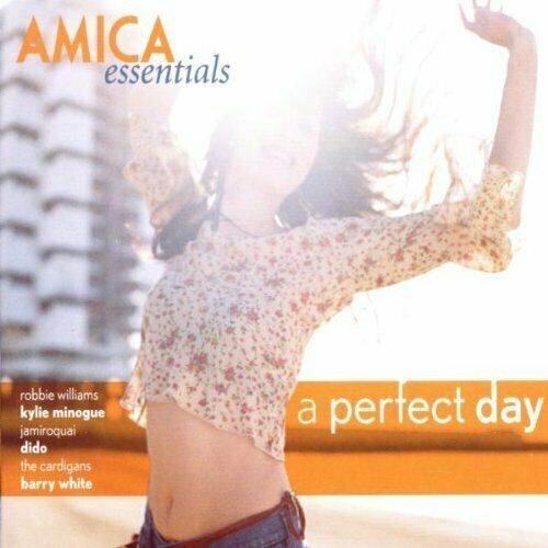 Amica Essentials-A perfect Day (2002) Jamiroquai, Barry White, Kylie Mino.. [CD]