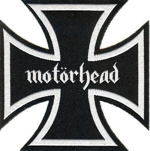 Motorhead-Iron-Cross-Patch-Lemmy-Rock-039-n-039-Roll-Sex-Pistols-Tank-Headcat-Saxon