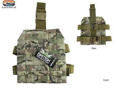 BTP m4 MOLLE Drop Leg Platform Stile Militare gamba pannello Airsoft Esercito Cadetto Mtp