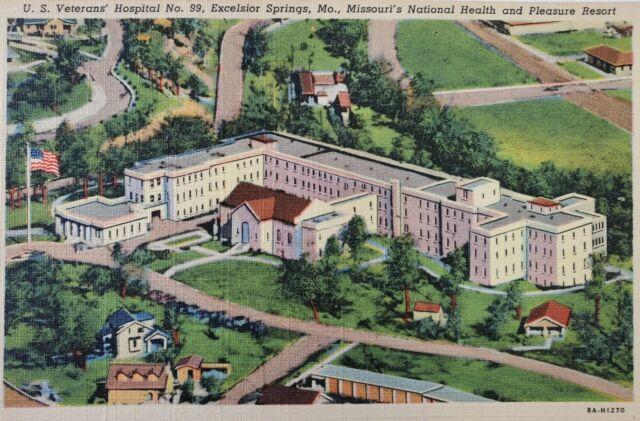 U. S. Veterans Hospital No. 99 Excelsior Springs, MO