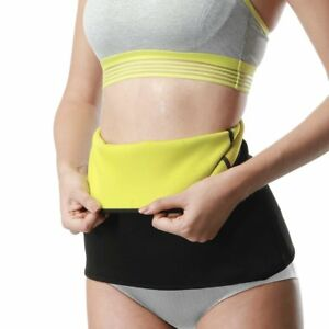 c9bf52c779 Hot! Sauna Slimming Belt Waist Wrap Shaper Burn Fat Calorie Belly ...