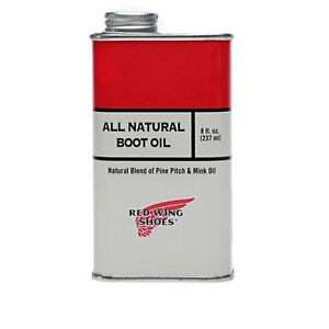 Red Wing All Natural Boot Oil Review