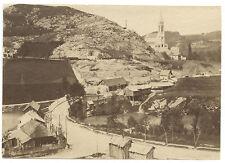 Lourdes France Vintage albumine ca 1875 Format 6x8,7cm