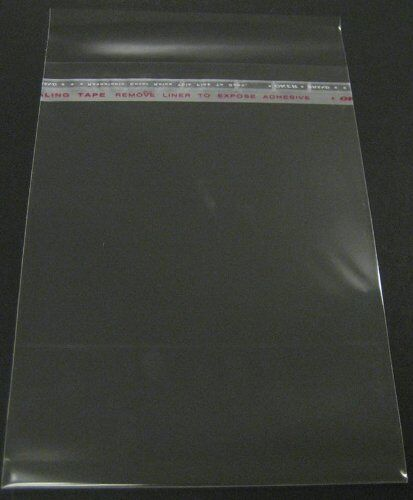 Set of 100 12 38x16 18 Crystal Clear Bag for mat mattes