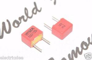 1nF 100V 2.5/% pitch:5mm Capacitor FKP2D011001D00HO00 WIMA FKP2 1000P 10pcs