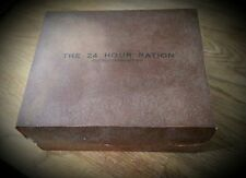 Reproduction 24 Hour Ration Box (single), WWII British Small Pack display