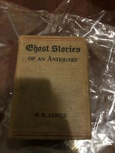 M-R-James-Ghost-Stories-of-an-Antiquary-First-UK-Edition-1904-Arnold-1st