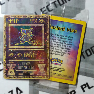 Pokemon-MEW-ANTICO-ANCIENT-SIGILLATO-Sealed-Promo-Wizard-WOTC-Nintendo-PSA-BGS
