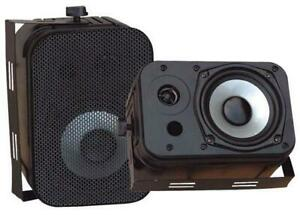 PYLE PDWR40B 5.25 Indoor/Outdoor Waterproof Speakers - Black Colour Canada Preview