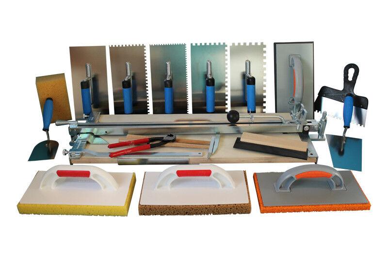 Profi Fliesenschneider 610 mm + Extra grosses Werkzeugset Werkzeugset Werkzeugset Fliesenlegerwerkzeuge | Starke Hitze- und Abnutzungsbeständigkeit  | Speichern  | Vollständige Spezifikation  43f67c