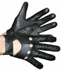 Vance Leather Hook and Loop Driving Glove VL440---7 SIZES-FREE SHIP!