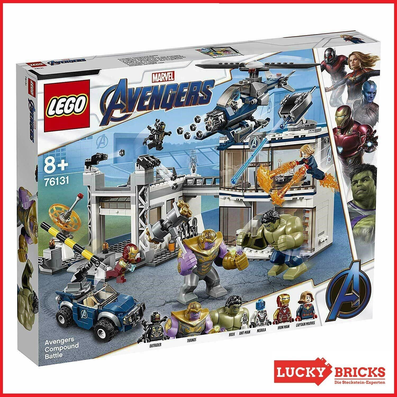 LEGO® Marvel Super Heroes - 76131 Avengers-Hauptquartier + NEU & OVP +