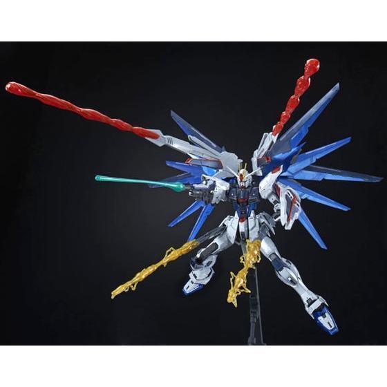 BANDAI  MG 1 100 freedom Gundam Ver .2.0 full burst mode special coating Ver.