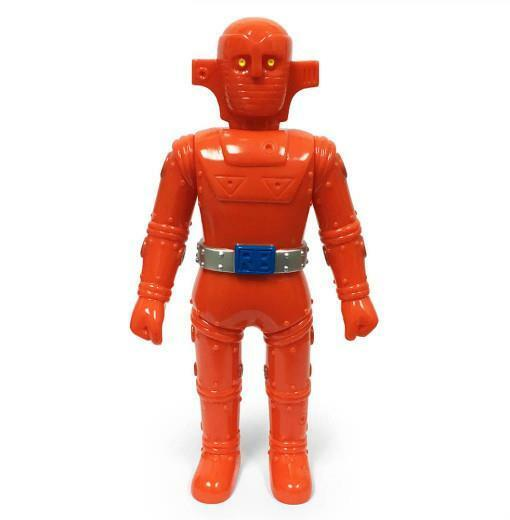 ROBOT BARON 1ST EDITION SOFUBI SOFT VINYL TOY FIGURE BY AWESOME TOY