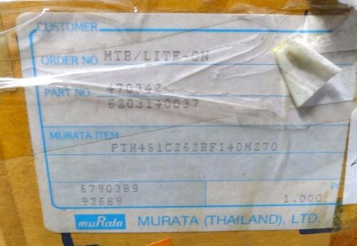 4 X Murata Degauss Termistor 140M PTH451C262-BF140M270