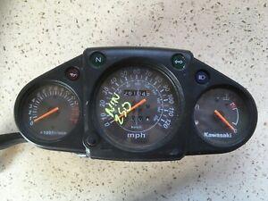 198-Kawasaki-EX250-Ninja-Speedo-Speedometer-Clock-Instrument-Cluster-25031-0236