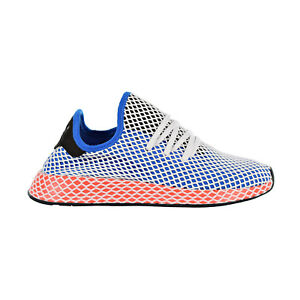 5cdcda058a018 Adidas Deerupt Runner Mens Shoes Blue Bird Blue Bird Eqt Yellow ...
