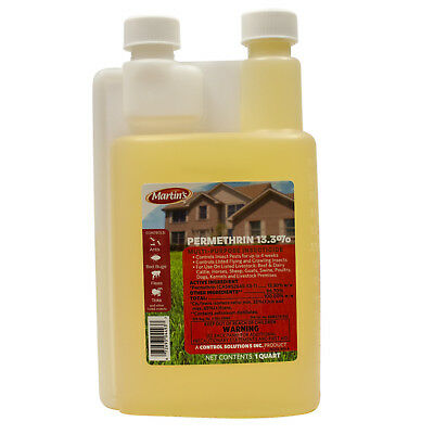 Bed Bug Spray Killer Roach Killer Spray Permethrin Insecticide 1 Qt Mks  6-12 Gal | eBay