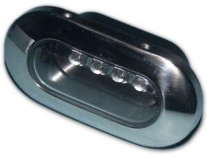 kabinenbeleuchtung 4 led leuchte strahler spot blau 4250521713750 ebay. Black Bedroom Furniture Sets. Home Design Ideas