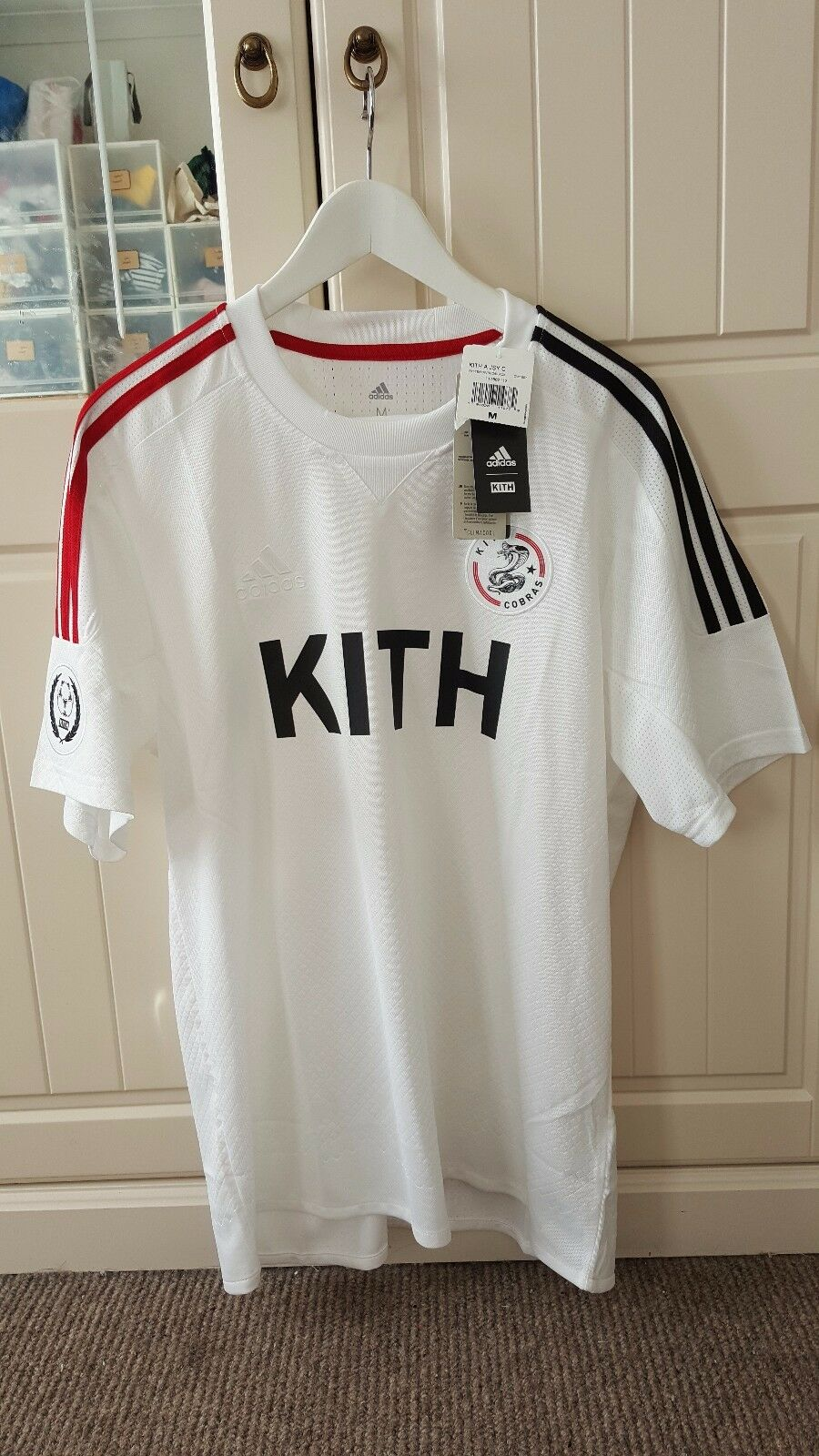 07e2d1fd2 Kith X adidas Cobras Home Soccer Football Jersey for sale online | eBay