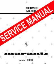 MARANTZ 1300 DC / 1300DC ~  Stereo Console  REPAIR / SERVICE MANUAL booklet