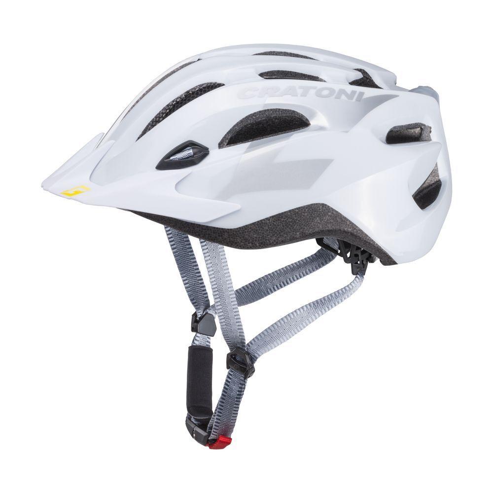 Cratoni C-Stream Weiß Glossy Glossy Glossy Gr. XXL 59-65 cm  Fahrradhelm 6653a1