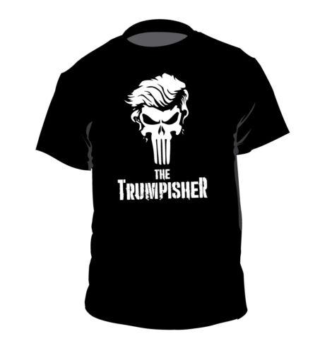 THE TRUMPISHER shirt Punisher President Donald Trump Marvel Comics t-shirt POTUS