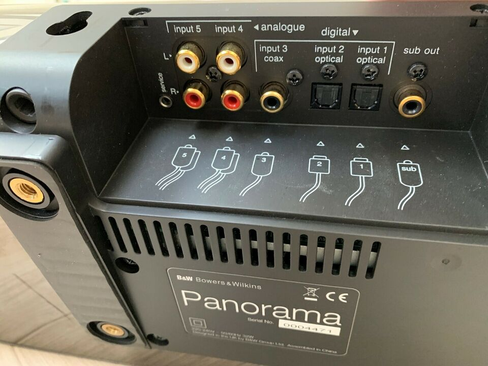 Soundbar, B&W, B & W Panorama