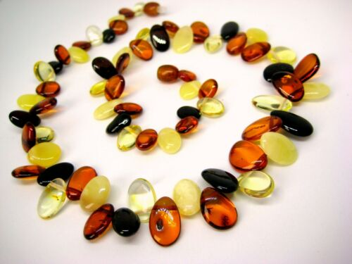 BEAUTIFUL REAL BALTIC AMBER NECKLACE