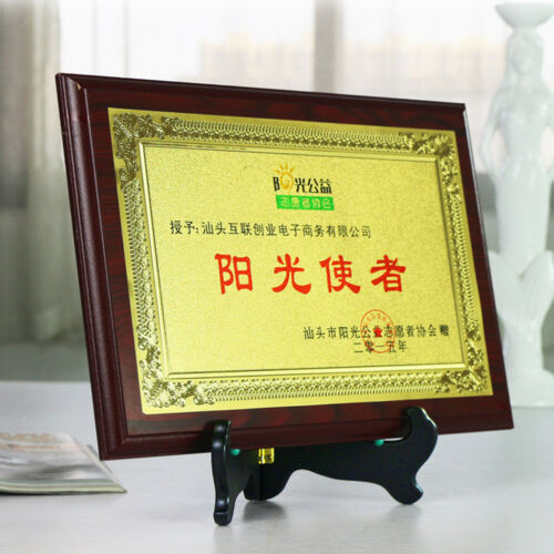 Vintage Style Wooden Folding Plate Display Easels Photo Holder Display Stand