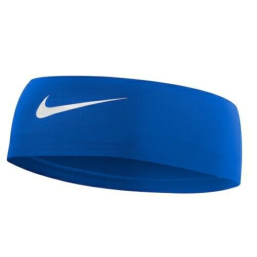 NIKE FURY HEADBAND 2.0 DRY WIDE HEADBAND BLUE RED DRI FIT MENS WOMENS