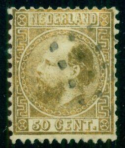 NETHERLANDS #12, used, Scott $160.00,