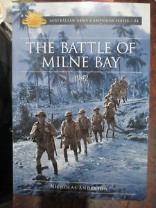 The-Battle-of-Milne-Bay-1942-Australian-Army-Campaign-Series-24-WW2-New-Book