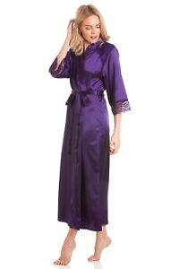 LADIES-LONG-SATIN-ROBE-WRAP-DRESSING-GOWN-VARIOUS-COLOURS-PLUS-SIZES-10-24