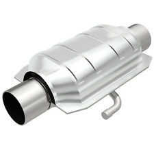 """Magnaflow 94119 Weld-On High-Flow Catalytic Converter Oval 3"""" In/Out w/ Air Tube"""
