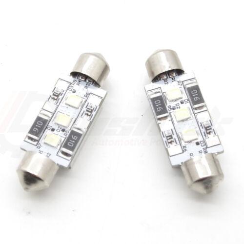 Xenon White 6000k *VW Passat 3B B5 3C B6 License Number Plate LED Light Bulbs