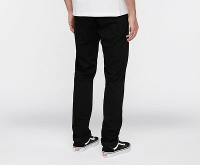 EDWIN ED 80 SLIM TAPERED FIT MENS JEANS WHITE LISTED SELVAGE DENIM RINSED BLACK
