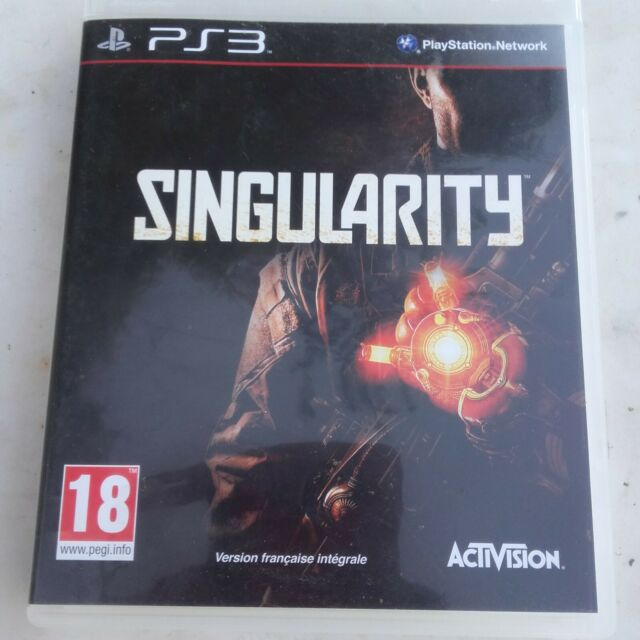 SINGULARITY- PS3- OCCASION  complet ! livraison OFFERTE !