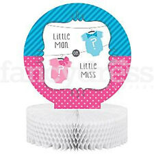 Baby Shower GENDER REVEAL Bow or Bow Tie Centrepiece Decoration Girl Boy
