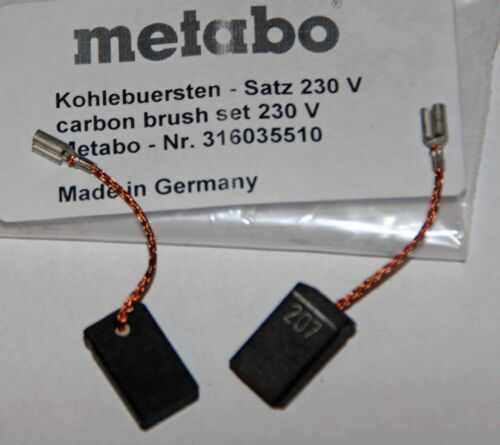 Kohlebürsten Kohlen Metabo W 7 8 9 10 14-125 WE WBE GE STE WQ FME OFE