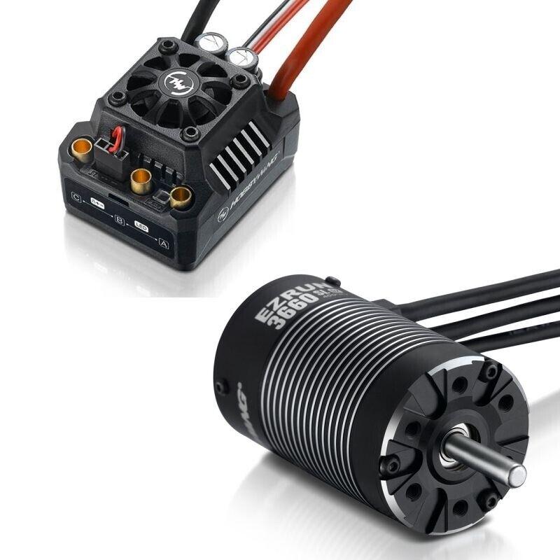 Hobbywing Ezrun MAX10 SCT Brushless Combo 3660SL-4600kV Sensorless - HW38010202