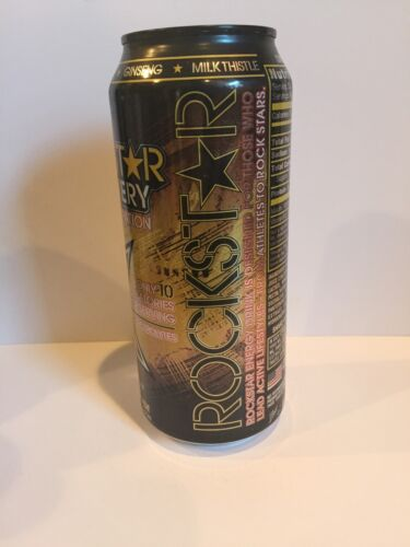Rare /& Discontinued Can Rockstar Recovery Energy Drink 16oz Can