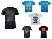 New cotton Minecraft minions angry birds round cartoon short t shirt top tee age