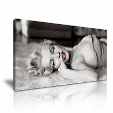 Marilyn Monroe Icon Canvas Wall Art Picture Print 60x30cm