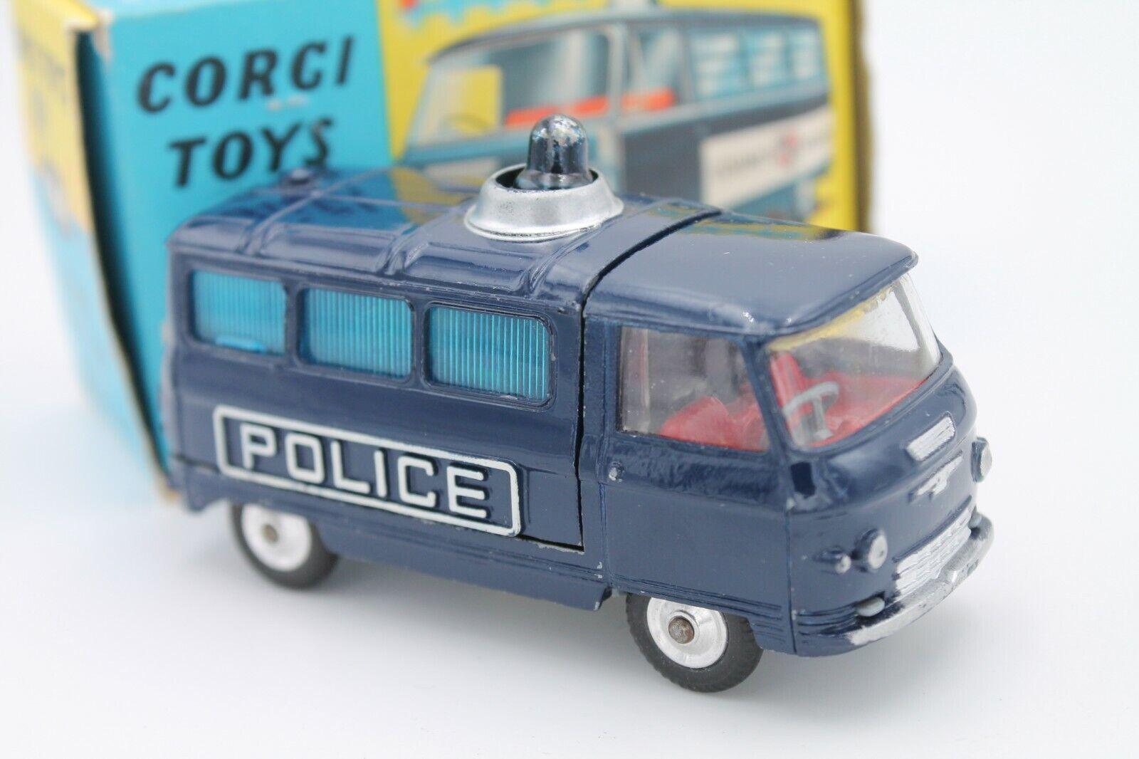CORGI TOYS 464 * commer police van * 3/4 TON CHASSIS * 1:43 * ORIGINALE