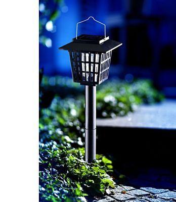 Ehrlich Led Solarlampe Mit Mückenschutz Insektenlampe Mücken Schutz Mückenlampe Solar Diversifiziert In Der Verpackung