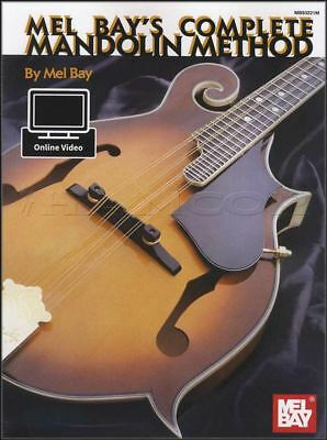 Analytisch Mel Bay's Complete Mandolin Method Music Book With Video Learn How To Play