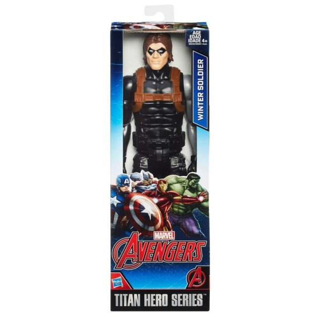 NEW HASBRO AVENGERS: TITAN HERO SERIES - WINTER SOLDIER 12INCH FIGURE B6532