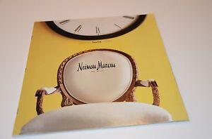 1999 Neiman Marcus Spring Home Decor Mail Order Catalog