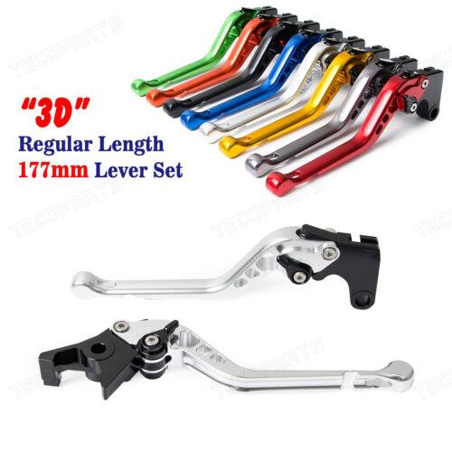 CNC Long 3D Brake Clutch levers for MOTO GUZZI BREVA 750 04-09 V7 Racer//Classic